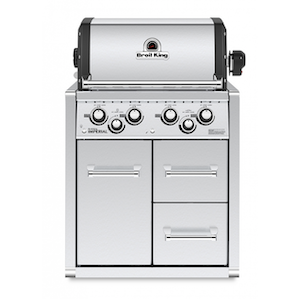 Barbecue Broil King Imperial 490 con mobiletto | Atelier del Fumista